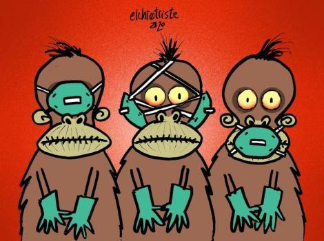 Monos sabios